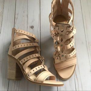 Dolce Vita Nude Lain Sandals